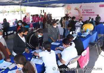 Ofrecen servicios gratuitos con la Feria de Salud en Irapuato - Guanajuato y Más