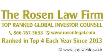 ROSEN, GLOBALLY RESPECTED INVESTOR COUNSEL, Encourages Nano-X Imaging Ltd. Investors with Losses to Secure Counsel Before Important Deadline in Securities Class Action - NNOX
