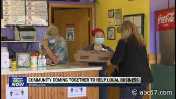 Community coming together to help local business - ABC 57 News