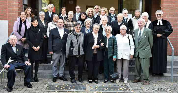 28 Jubilare in Albertshofen