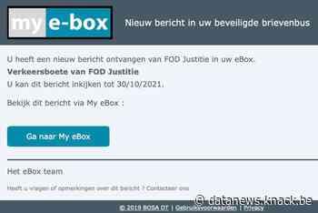 Overheid waarschuwt voor professioneel nagemaakte phishingmails 'vanuit My e-Box'