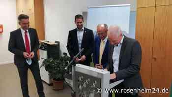 Mehr Raum für Pflege: Stadt und Landkreis eröffnen Stützpunkt in Rosenheim