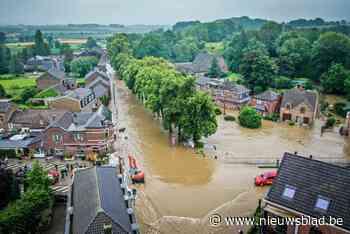 Voor 16 miljoen euro schade in Limburg na overstromingen van half juli