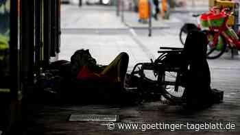 Obdachlose in Köln mit Farbe übergossen - Polizei ermittelt