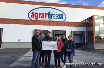Agrarfrost spendet 1.000 Euro für den Förderverein Freibad Oschersleben e.V. - Presseportal.de