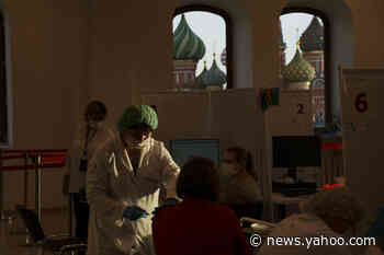 Russia marks another daily coronavirus death high - Yahoo News