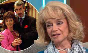 Only Fools And Horses star Sue Holderness  believes late co-star John Challis is watching over her