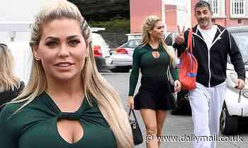 Bianca Gascoigne wows in a thigh-skimming skirt as she leaves Dancing With The Stars rehearsals