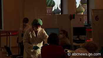 Russia marks another daily coronavirus death high - ABC News