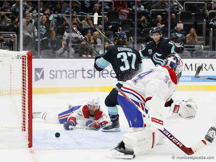 About Last Night: Habs look like the expansion team in Kraken loss