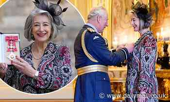 Coronation Street's Maureen Lipman is made a Dame Commander of the British Empire