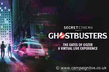 Secret Cinema partners Sony for at-home Ghostbusters experience