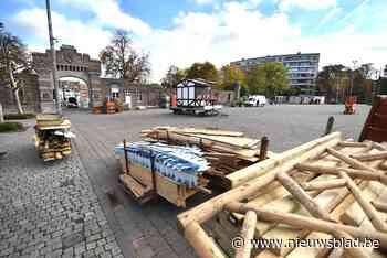 """Opbouw Winterland is gestart: """"Willen geen mondmaskerplicht op het hele terrein"""""""