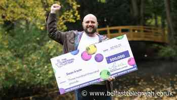 Plumber to retrain for new career after £300,000 scratchcard win