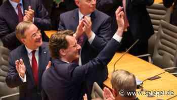 Hendrik Wüst zum neuen Ministerpräsidenten von Nordrhein-Westfalen gewählt