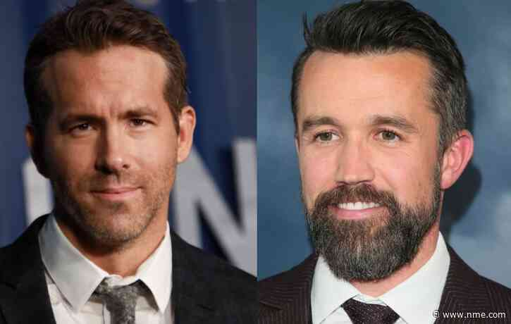 Ryan Reynolds and Rob McElhenney attended their first Wrexham game last night