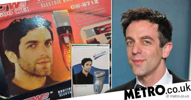 The Office star BJ Novak's face accidentally ended up in public domain so he's being used to sell random products across the world