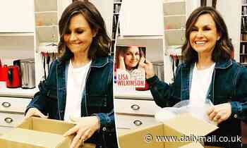 Lisa Wilkinson proudly unboxes her highly anticipated tell-all autobiography