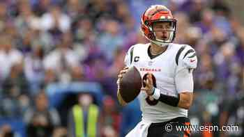 Tannenbaum's updated QB rankings: How does Burrow stack up?