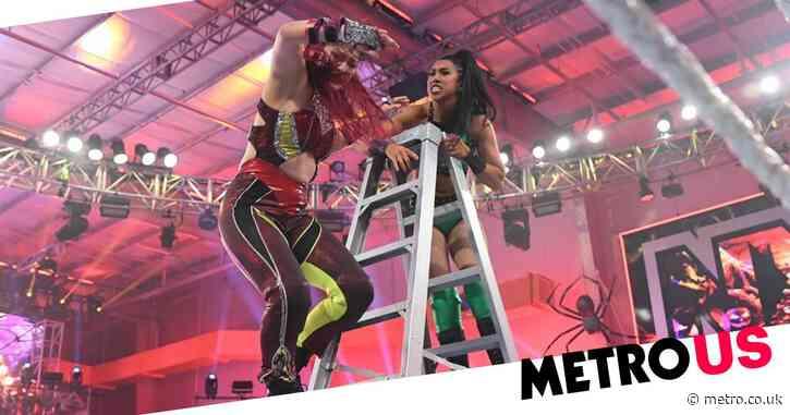 'I am not dead': WWE star Io Shirai gives update after sickening drop onto ladder