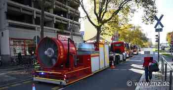 Heidelberg:  Feuerwehr-Einsatz in der Kurfürstenanlage