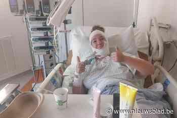 """Elise (14) herstelt in brandwondencentrum UZ Gent na incident met steekvlam in chemieles: """"We nemen de leraar niets kwalijk"""""""
