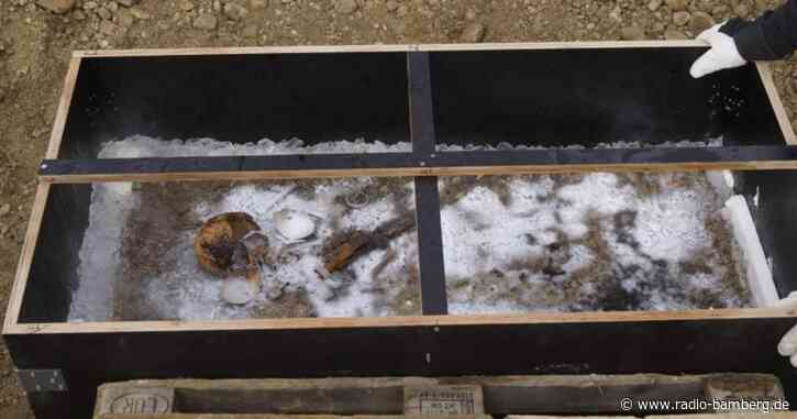 Archäologen bergen 1300 Jahre altes Kindergrab