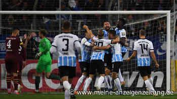 Giesinger Gänsehaut-Nacht - 1860 überwintert im DFB-Pokal