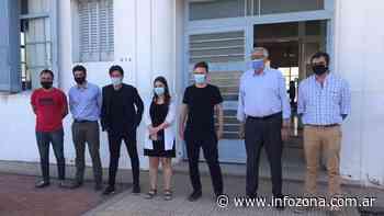 General Belgrano: El Ministro Costa visitó la ciudad y se reunió con autoridades municipales - INFOZONA