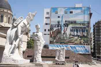 Rosario inauguró un mural en honor a Manuel Belgrano y la bandera - Aptus | Propuestas Educativas