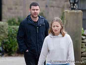 Emmerdale actor Danny Miller welcomes baby with fiancée Steph Jones