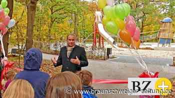 Braunschweigs neuer Vorzeige-Spielplatz im Prinzenpark eröffnet