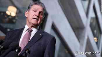 Manchin pushes back on billionaire tax as Democrats struggle to cut a deal on Biden agenda