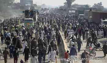 Three cops shot dead at TLP rally in Pakistan - Hindustan Times
