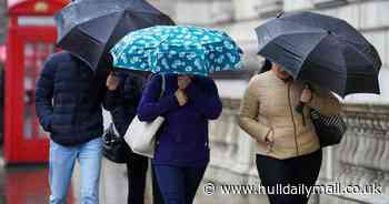'Month's worth of rain' set to fall in a day as flood alerts issued for parts of the UK