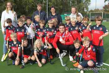 Gouden olympiërs op bezoek bij HC Brugge