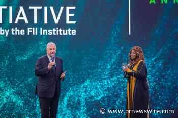 Erstmalige Verleihung des FII Institute for Humanity Award anlässlich des 5-jährigen Bestehens des FII