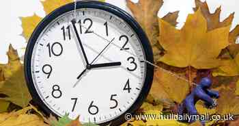 When do the clocks go back and why does it happen?