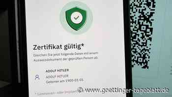 """Fake-Impfzertifikat für """"Adolf Hitler"""" wird von offiziellen Apps akzeptiert"""