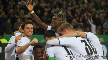 0:5 im Pokalspiel: Gladbach demütigt FC Bayern München