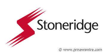 Stoneridge Reports Third-Quarter 2021 Results