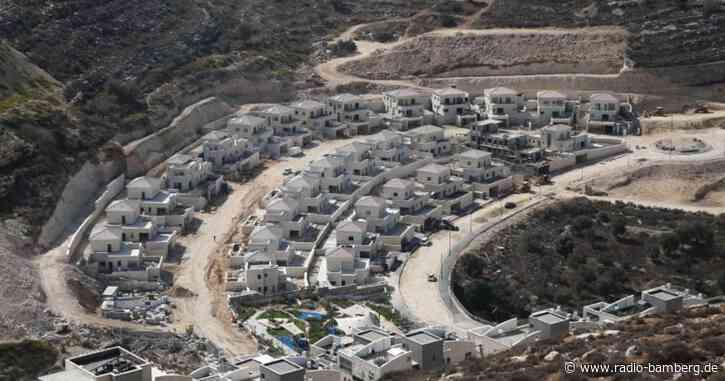 Israel treibt Siedlungsbau auch nach Kritik der USAvoran