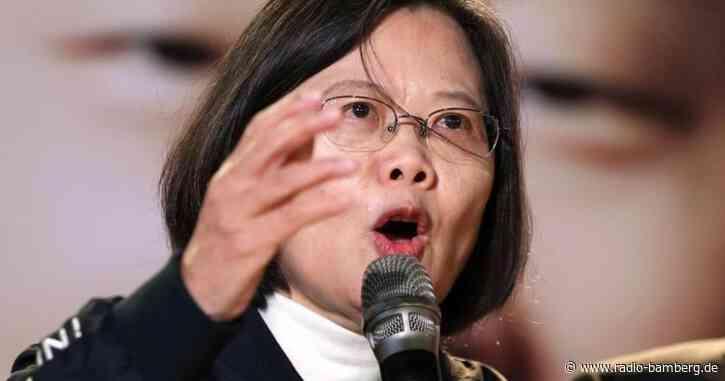 Taiwans Präsidentin: Bedrohung durch China «nimmt zu»