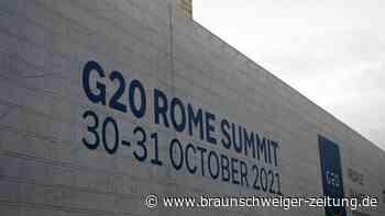 G20-Gruppe verspricht Klimaschutz und streitet über Ziele