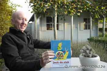 """Frank (61) stelt met nieuw kinderboek jachtigheid van ons leven in vraag: """"We zouden allemaal wat meer 'slak' moeten zijn"""""""