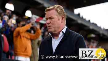 FC Barcelona trennt sich von Trainer Ronald Koeman
