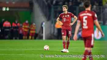 """FC Bayern """"schockiert"""" - Gladbach feiert historischen Abend"""